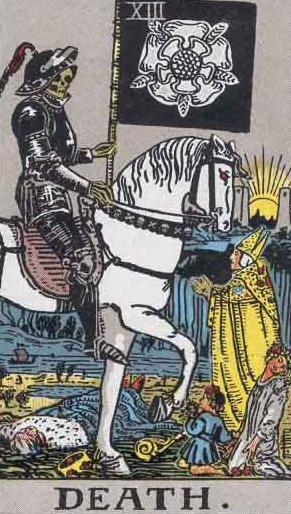 Death Card Tarot Meaning